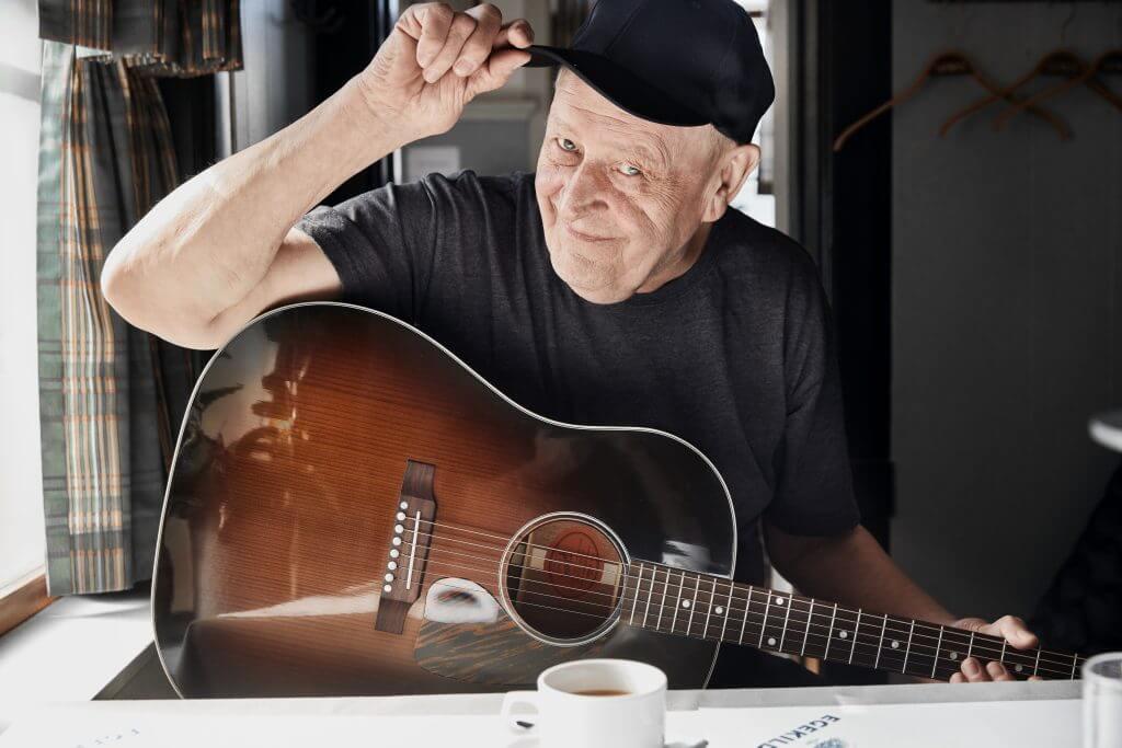 Henning Stærk fotograferet af Jesper Westley